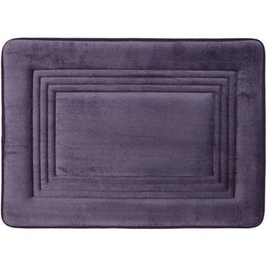 Great Royal Velvet® Embossed Memory Foam Bath Rugs   Jcpenney