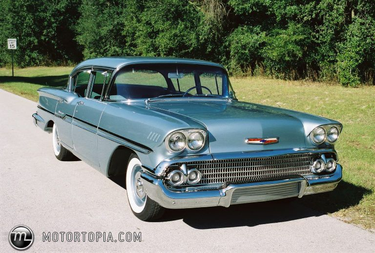 1958 Chevrolet Biscayne 4dr sedan | Chevy 1958-61 | Pinterest ...