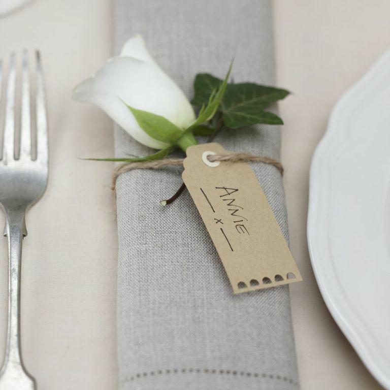 Tischkartenhalter Gabel 8,6 cm 8 Stück Tischkarten Gastgeschenk Hochzeit Party