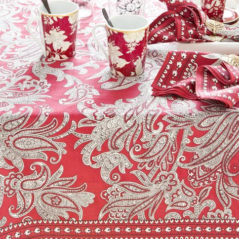 PAISLEY PRINT TABLECLOTH AND NAPKIN   Tablecloths U0026 Napkins   Tableware |  Zara Home Turkey