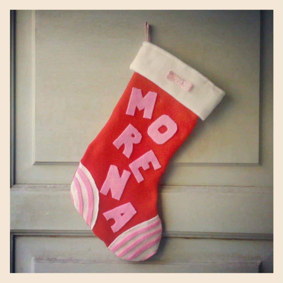 Bota navideña personalizada.  By DecorAndo