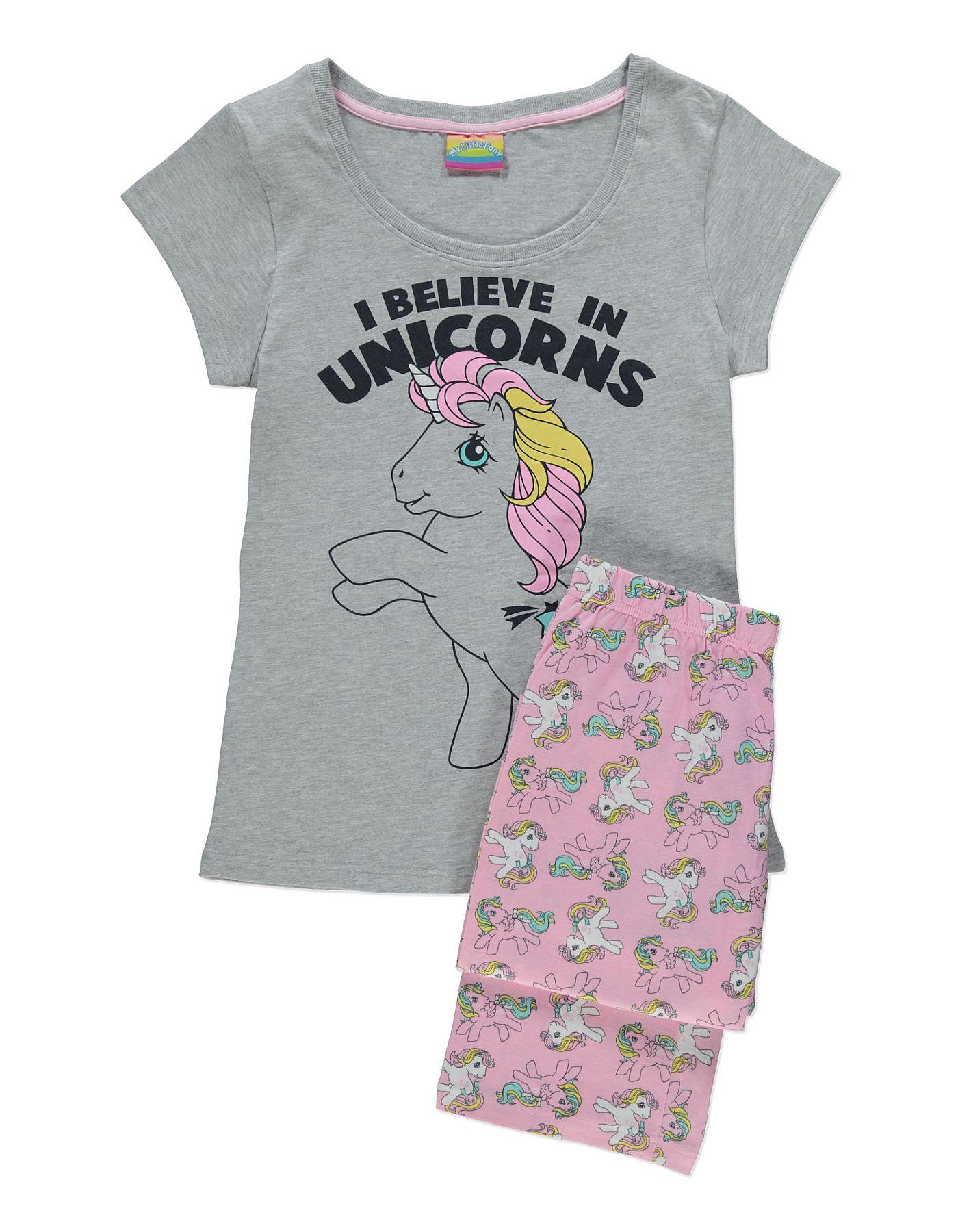 Fingerless gloves asda - My Little Pony Unicorn Pyjamas