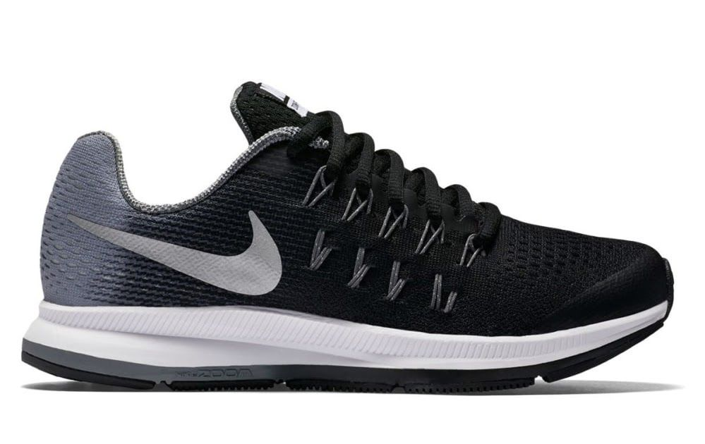 sports shoes 064b8 40245 Nike Air Zoom Pegasus 33 GS Kids - Chaussures running pour Enfant Unisexe -  Noir