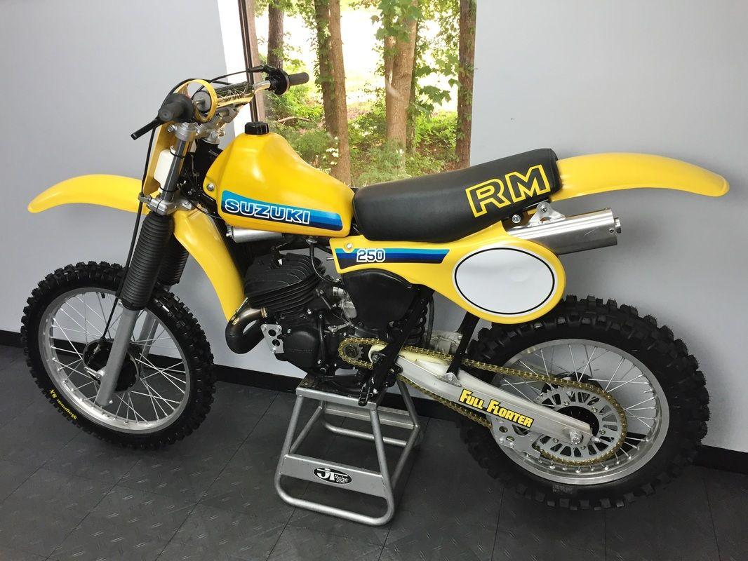 1981 suzuki rm250