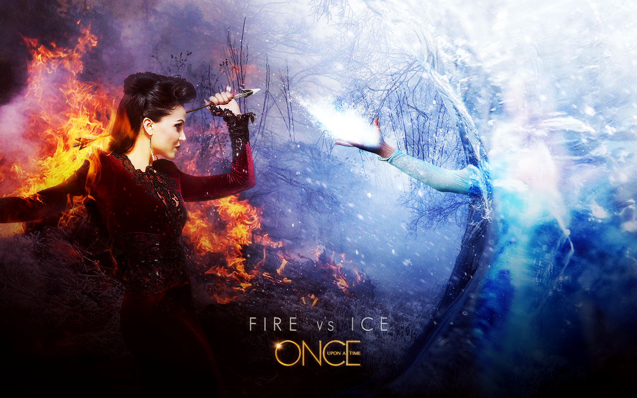 Regina And Elsa Once Upon A Time Ouat