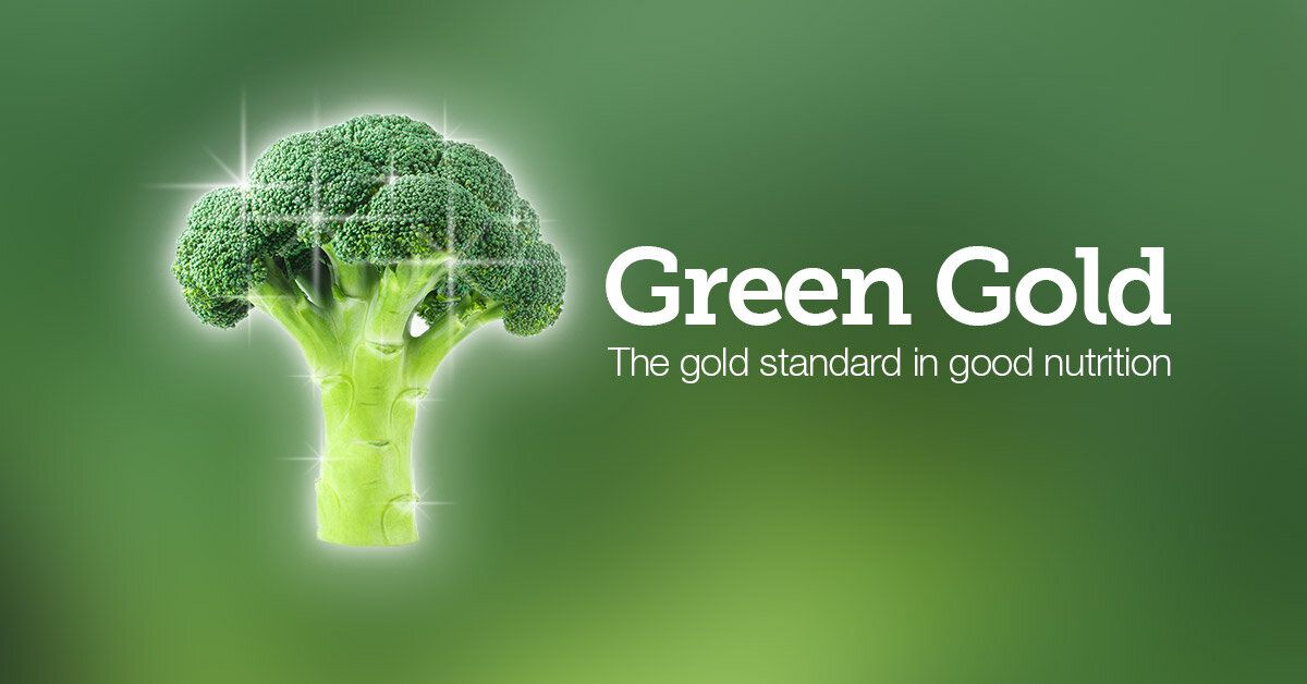 Green Gold The Gold Standard In Good Nutrition Green And Gold Nutrition Green
