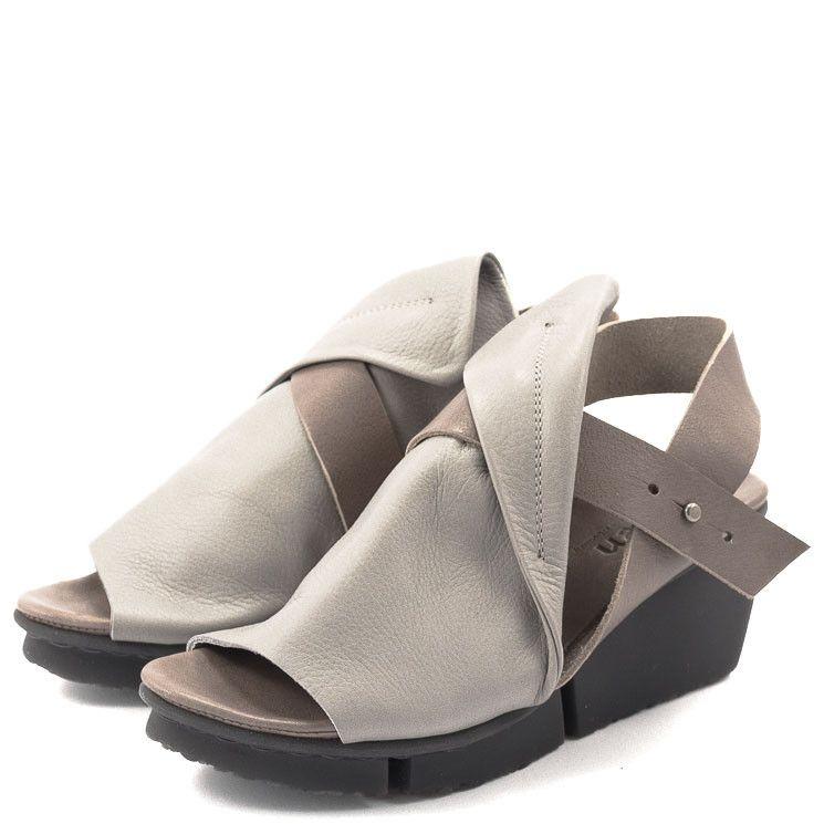 quality design 946b2 cb9bf Trippen Rail Splitt Damen Sandale hellgrau   Fashion Shoes ...