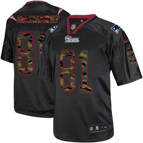 Men S Nike New England Patriots 81 Aaron Hernandez Elite Black Camo Fashion Nfl Jersey Www Nikepatriotsnflsto Nfl Jerseys Nike Nfl Green Bay Packers Jerseys