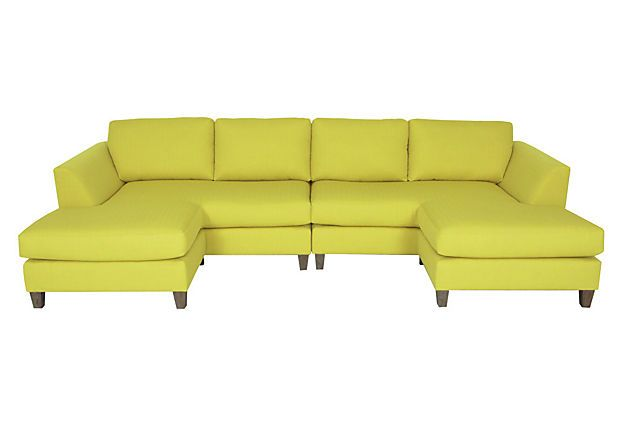 Tribeca Sectional on OneKingsLane.com Great shape for lounging!  sc 1 st  Pinterest : tribeca sectional - Sectionals, Sofas & Couches