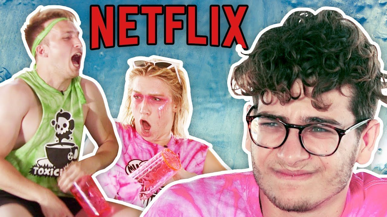 THE END OF NETFLIX AND CHILL Smosh Summer Games