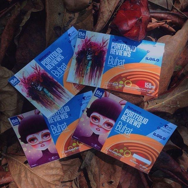 #BehanceReviews Fliers for Iloilo City!