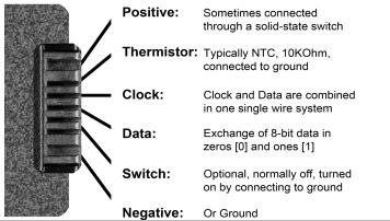 terminal connection of a typical laptop battery arduino rh pinterest com Computer Wiring Diagram for 2007 Malibu Computer Speaker Wiring Diagram