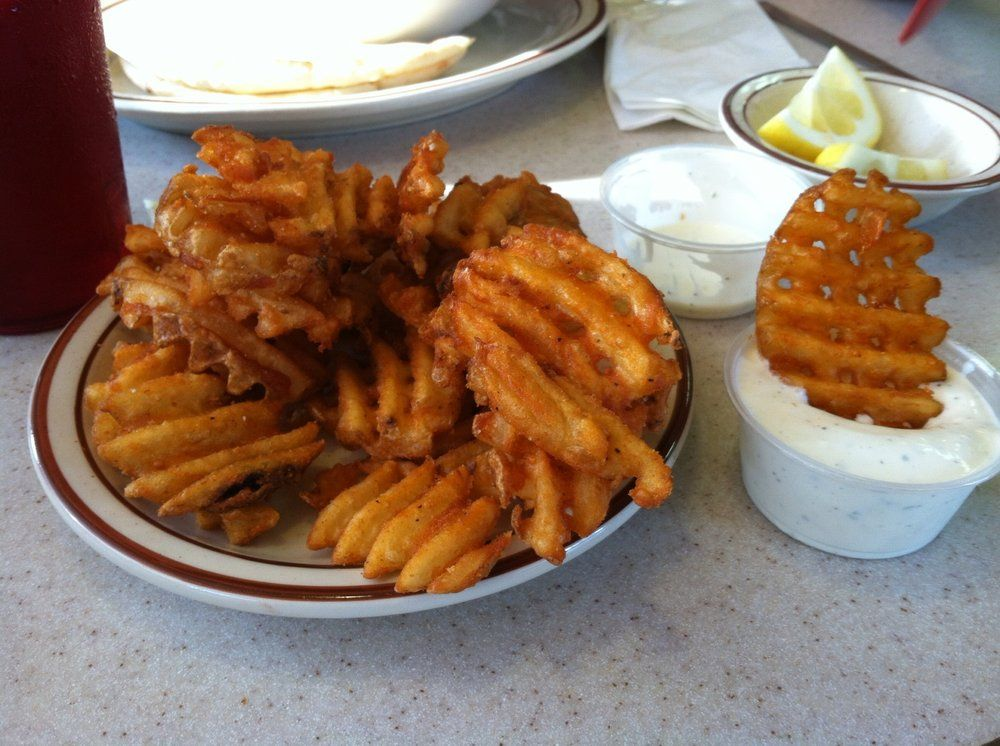 Leos coney island photos waffle fries coney island