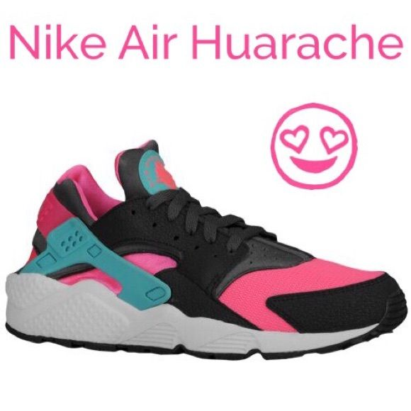 03bbaf8bc452 NIKE AIR HUARACHE Color Hyper Pink Medium Ash Dark Ash Dusty Cactus. Size  8.5 Men I wear a 9.5 in women these shoes run small! Good condition on tops  and ...