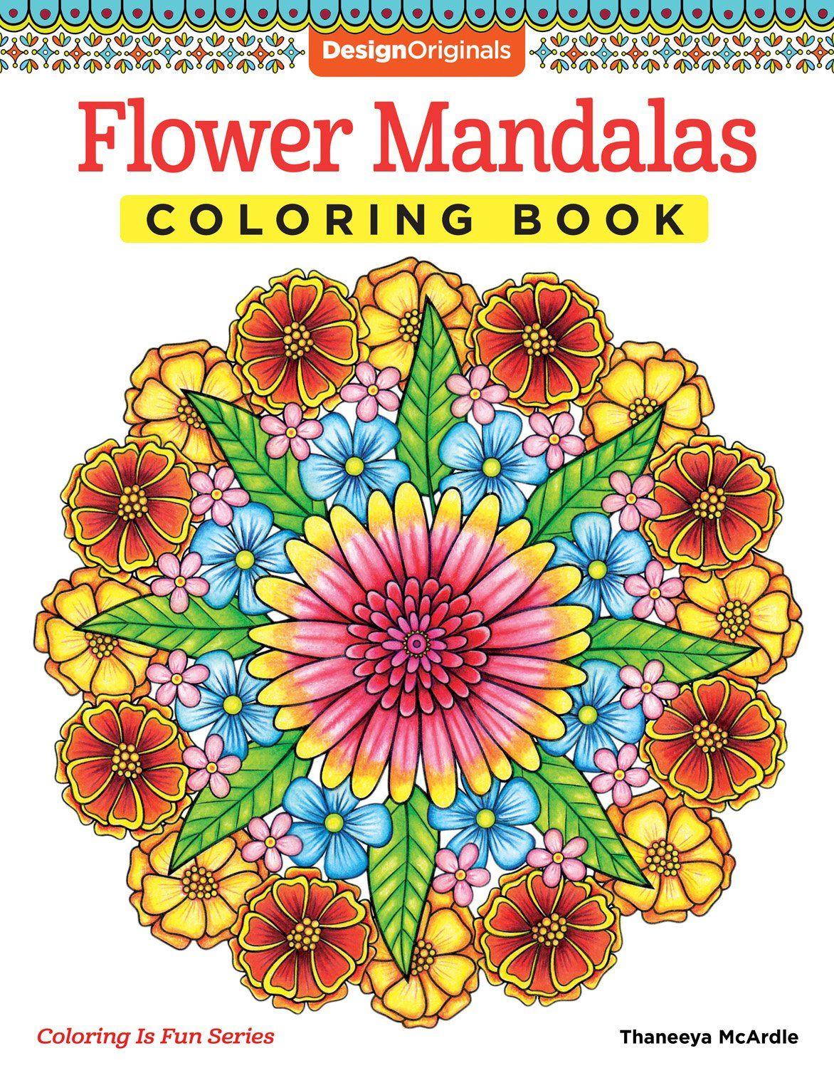Amazon Flower Mandalas Coloring Book Is Fun Design Originals
