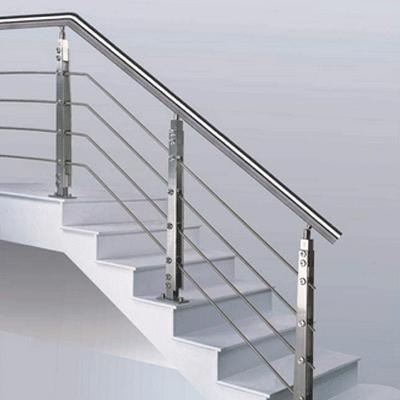 Railing Stainless Steel Modern Minimalis Pagar Arsitek Rumah Minimalis