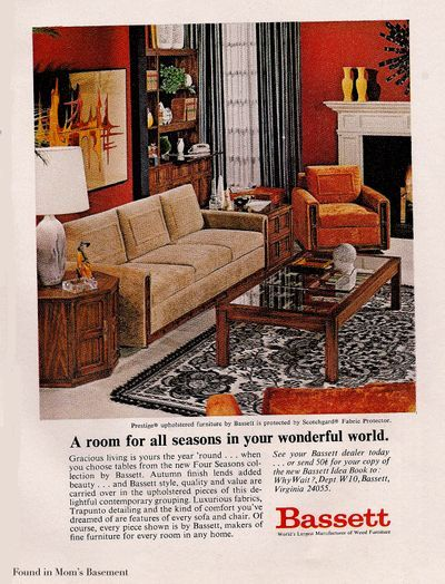 1970 furniture ad old housewares and old decor pinterest rh pinterest com 1970 furniture makers 1970 furniture makers