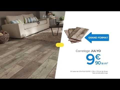 Carrelage Sol Et Mur Imitation Bois Julyo Castorama. | Castorama