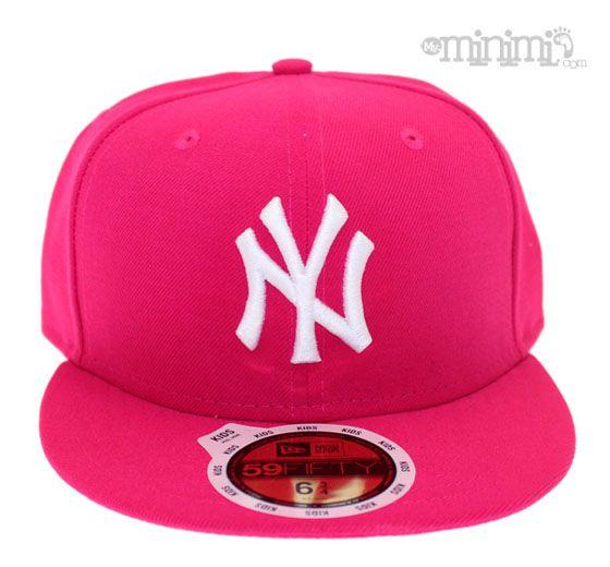 c7805c186636 New Era Casquette Enfant NY Yankees - Rose  yankees  rose  casquette  enfant