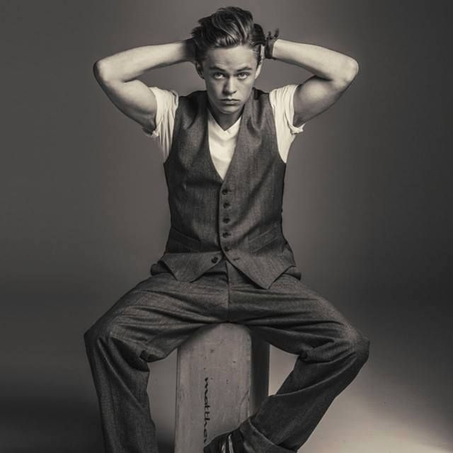 Classical Harrison Gilbertson looking absolutely dapper.