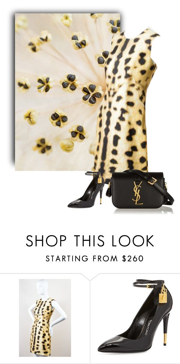 """#993 Seed Pods 1"" by ginger ❤ liked on Polyvore featuring KaufmanFranco, Tom Ford and Yves Saint Laurent"