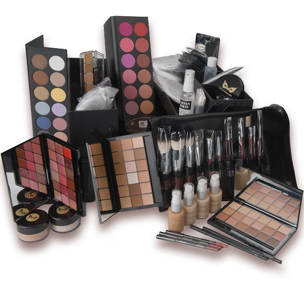 Kit CRC DeLuxe Makeup Kit with Makeup