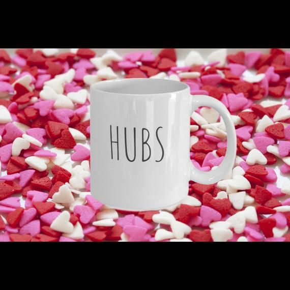 Gift for Husband, Hubs, Hubby | Hubs coffee mug | Anniversary, Wedding, Birthday, Engagement gift