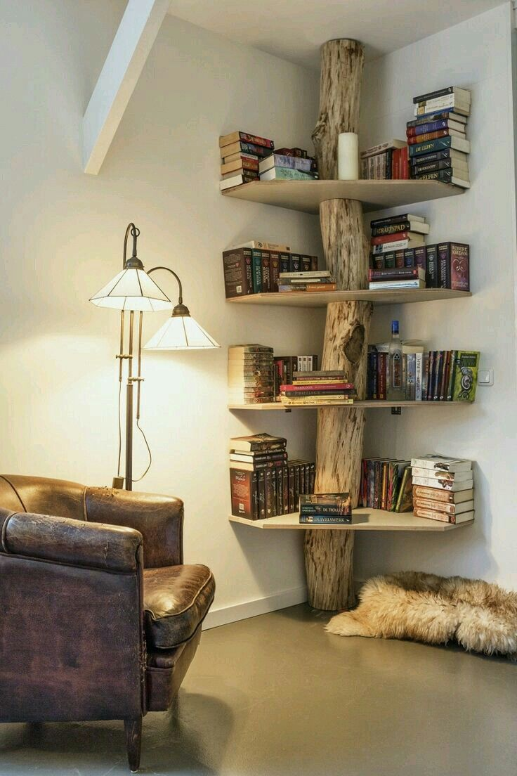 Love The Bookshelf Home Ideas Pinterest Garage House Nook  # Muebles Violino