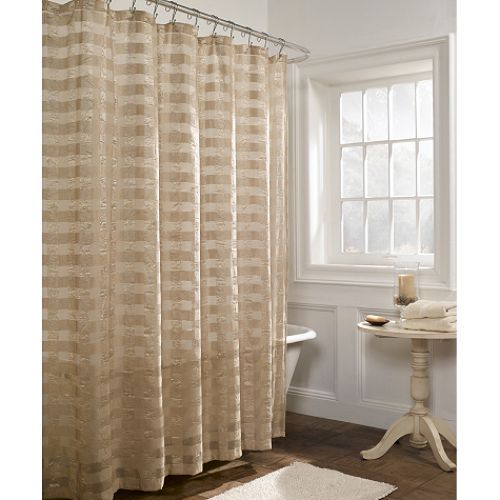 Whole Home Nicolina Fabric Shower Curtain