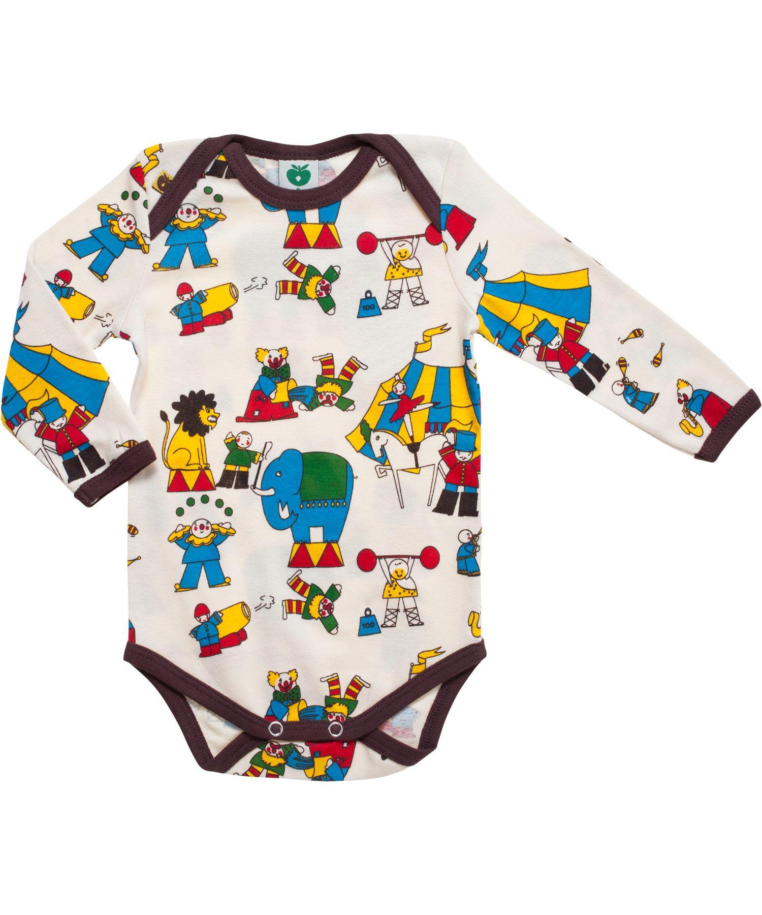 Webwinkel Babykleding.Smafolk Cute Circus Printed Bodystockingbody In 2019 Children
