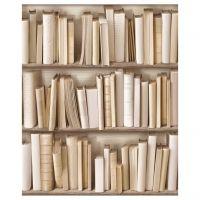 ivoor boekenkast behang   new wallpapers @ www.funkywalls.be ...