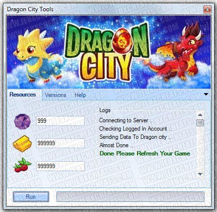 dragon city hack pc