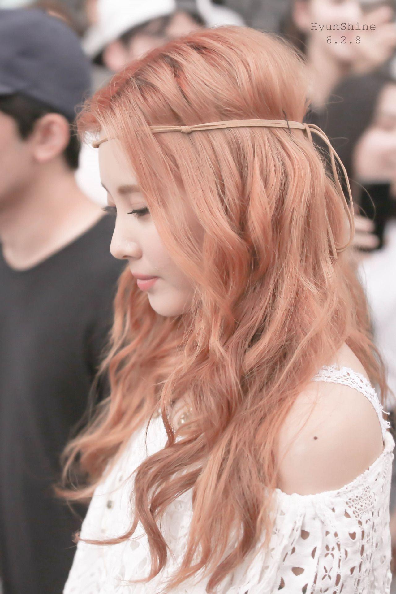 Seohyun Girl S Generation Snsd 髪 色 ヘアースタイル ヘアスタイル