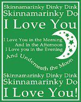 My preschool kids LOVE the Skinnamarink song from the