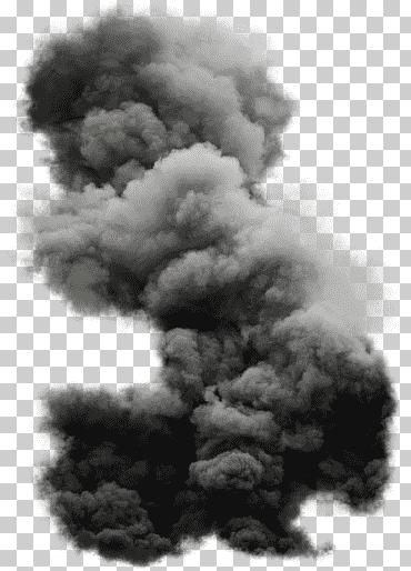 Smoke Smoke Grey Smoke Cloud Explosion Monochrome Png Black And White Artwork Clouds Smoke Background