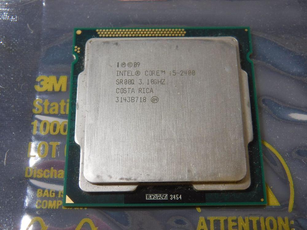 intel core i5 2400 processor 3.1 ghz overclock