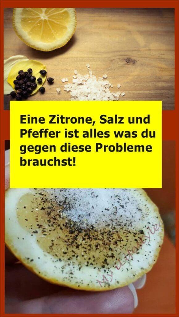 Photo of Loading… Pfeffer, Salz und Zitrone: ein Wundermittel! Pfeffer, Salz und Zitron…