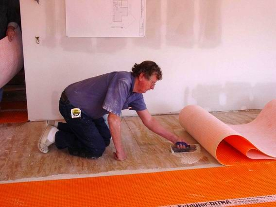 Ditra 174 Uncoupling Membrane By Schluter Systems For Use On