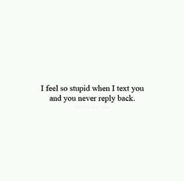 Why do i feel so stupid