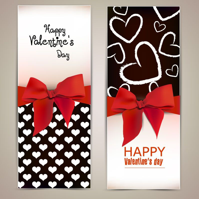 Free vector Vector Heart gold valentine day greeting card template - greeting card template