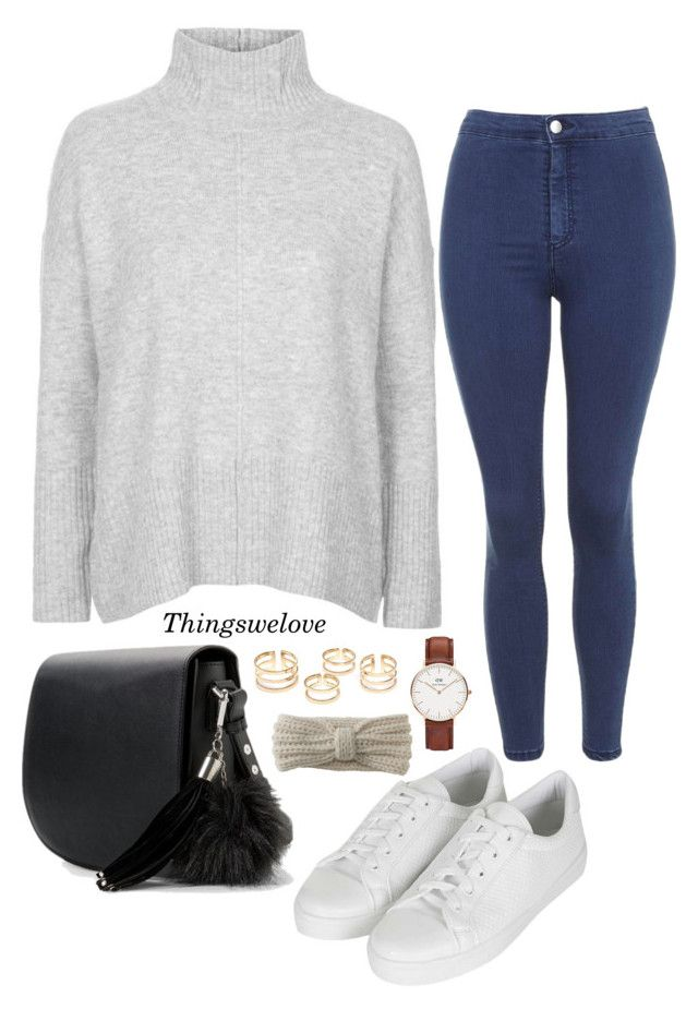 """""""Untitled #168"""" by thingswelovee ❤ liked on Polyvore featuring Topshop, MANGO, Daniel Wellington and Aéropostale"""