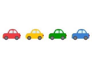 車シルエットマークの無料イラスト素材 イラストイメージ 無料 イラスト 素材 車 シルエット 無料 イラスト