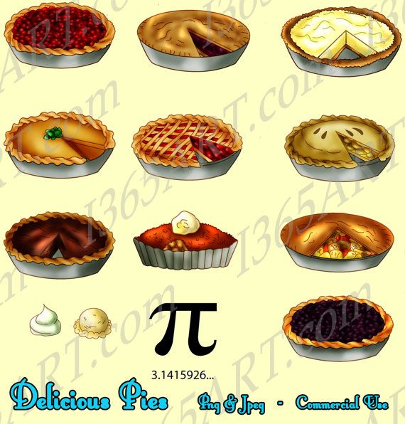Pie Clipart Pie Clip Art Food Clipart Baked Pies Party