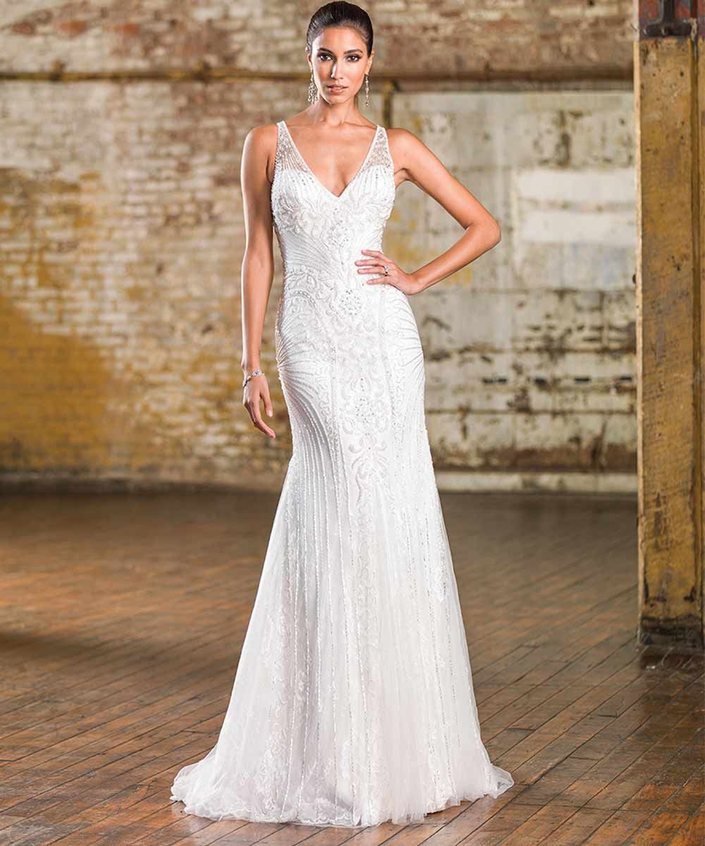 Beaded Wedding Dresses 17 Impeccable Designs