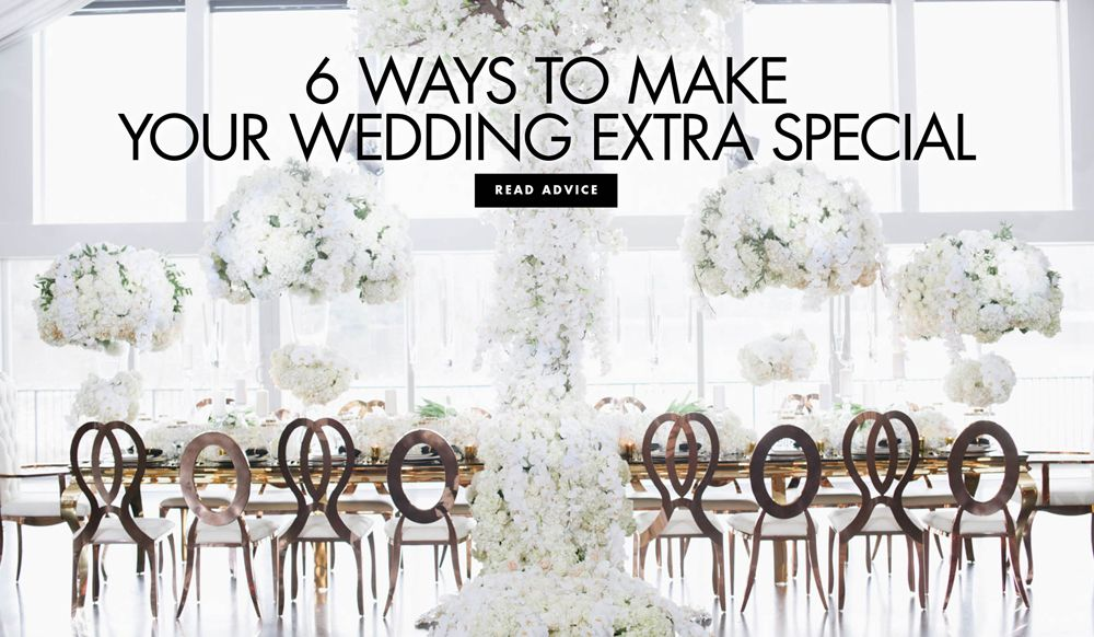 Expert Planning Tips for a Unique & Memorable Wedding