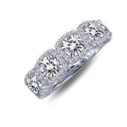 Lafonn 2.05 cttw 85 Stone Ring || $195 @ www.americanjewelry.co ||