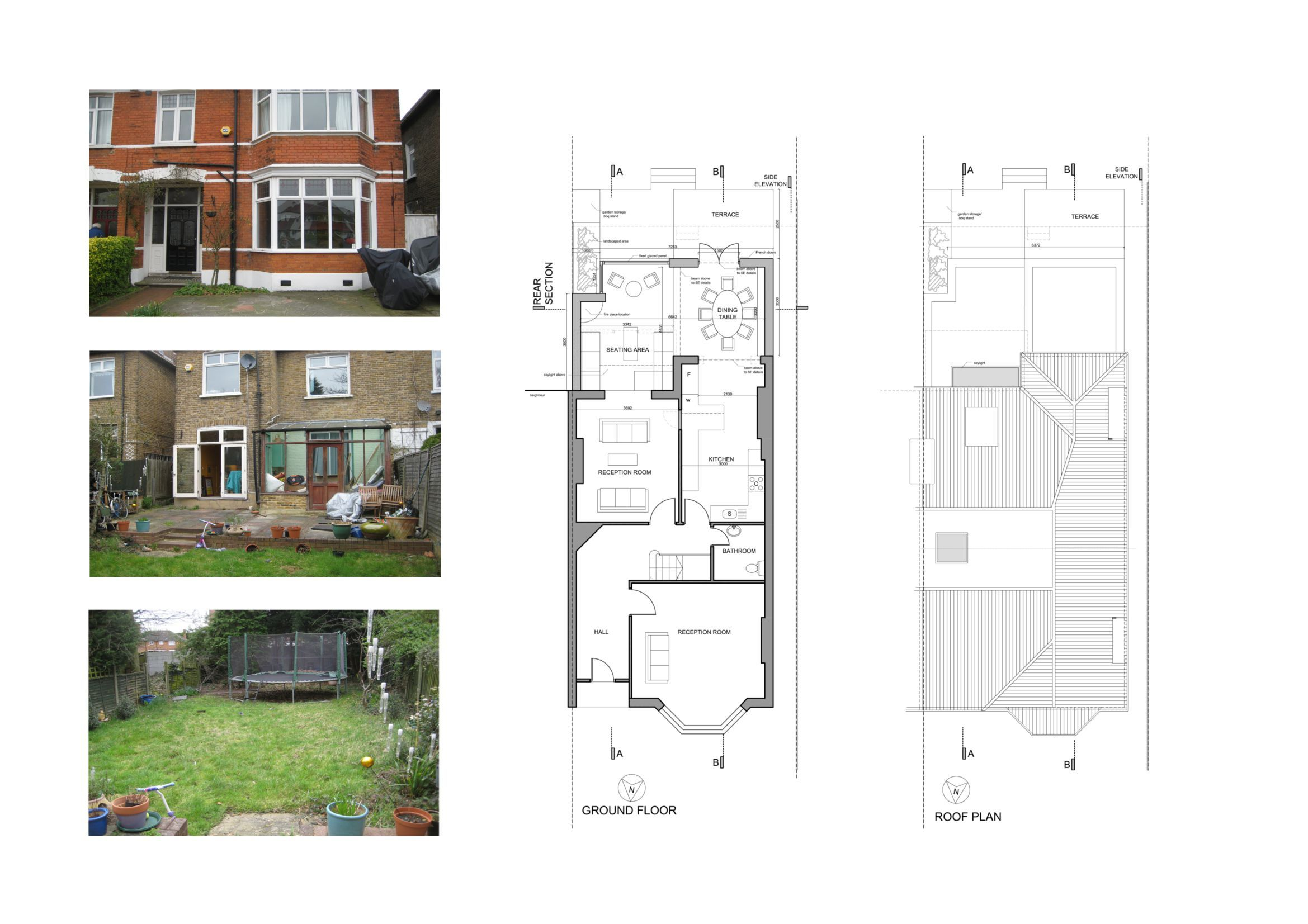 Rear House Extension Ideas Design - http://uhousedesignplans.com ...