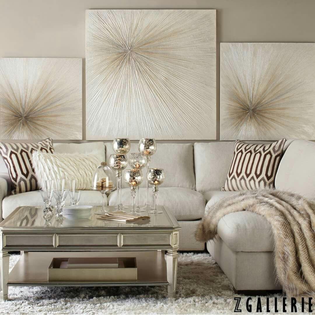 Zgallerie cozy glam livingroom | Home Decor | Pinterest
