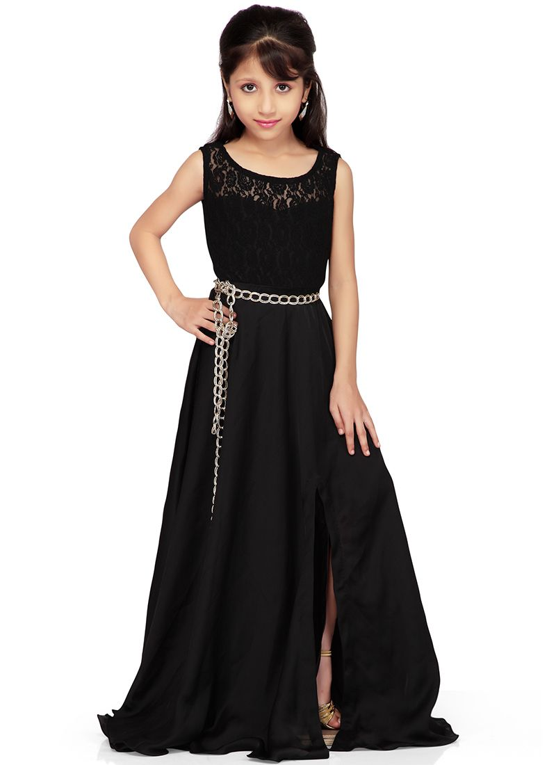 Dashing Black K and U gown | kids | Pinterest | Gowns, Us and Black