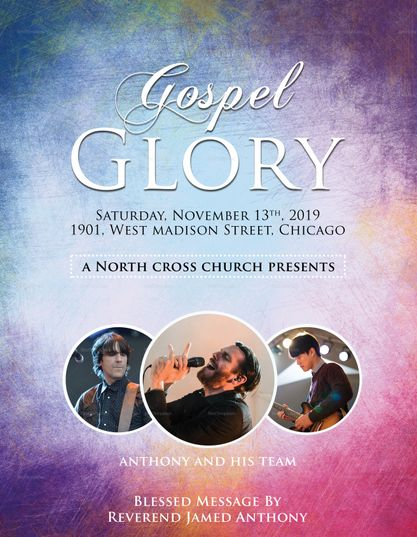 Heavenly Church Flyer Template  Design Flyer Templates